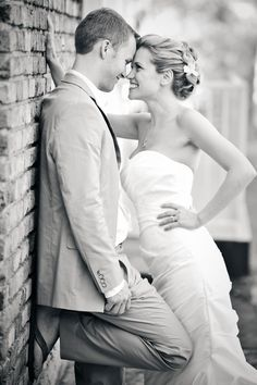 """Happy bridal pose. Her expression says """"I love this guy and he's finally mine!"""""""