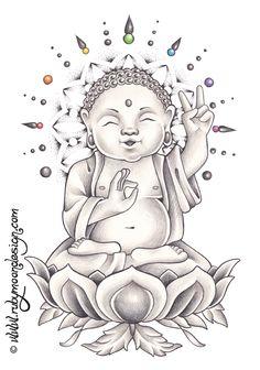 Baby Buddha 2 by *RubyMoonDesign on deviantART