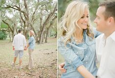 Florida engagement shoot, love her accessories with her shirt!