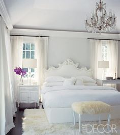 Awesome Elle Decor White Bedroom   Google Search Dream Bedroom, Serene Bedroom,  Pretty Bedroom,