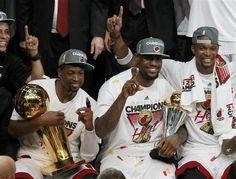 3 Amigos #Heat #Finals2012Victory