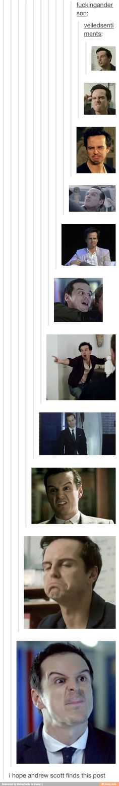 Andrew Scott everybody; give him a hand!!!!!!!!!!