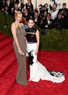 Gemma Ward and Cindy Chao