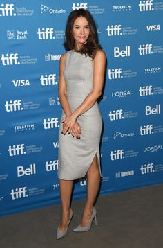 """Abigail Spencer Photos Photos - Actress Abigail Spence poses at """"This Is Where I Leave You"""" Press Conference during the 2014 Toronto International Film Festival at TIFF Bell Lightbox on September 8, 2014 in Toronto, Canada. - """"This Is Where I Leave You"""" Press Conference - 2014 Toronto International Film Festival"""