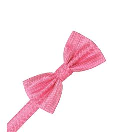 Herringbone Bubblegum Bowtie