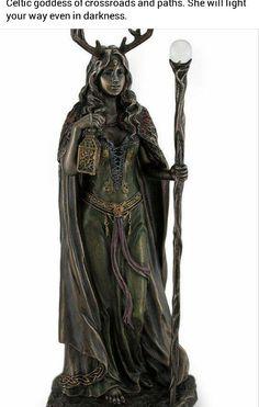 Keltische Göttin