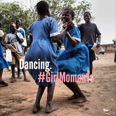 Is #Dancing your #GirlMoment too? #Instacontest #Smiles #Africa #instagood #GirlMoments