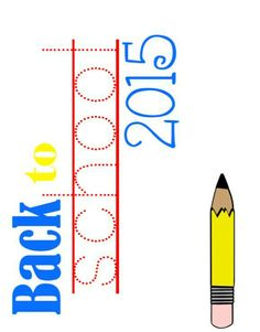 back to school printable, back to school 2015, back to school, free printable, school printable, customizable