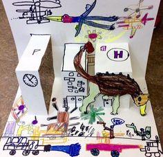 초3 초2 초2 초2 초2 초2 초2 공룡 화석과 모기 만들기!^^ 그리고 공룡이 나타났어요~~!!!!!!!! 주제를 연... Art Lessons For Kids, Art Lessons Elementary, Art For Kids, Arts And Crafts Projects, Projects For Kids, Crafts For Kids, Pop Up Cards, Creative Kids, Kids Education