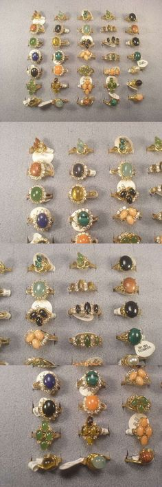 58ebd3ea25e2 Other Wholesale Rings 48761  Close Out     Lot     30 Rings Various  Semi-Precious With Swarovski Crystals -  BUY IT NOW ONLY   64.95 on  eBay   other ...