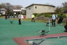 カナール彩(Apr.27 2014開催) 時にマルチコプターが集合(1)