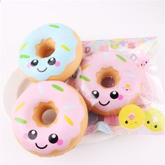 Viccent 1PC Jumbo Rainbow Strawberry Squishy Kawaii Slow Rising Scented Squishies Straps Charms Stress Relief Toys Fun Toys Gift
