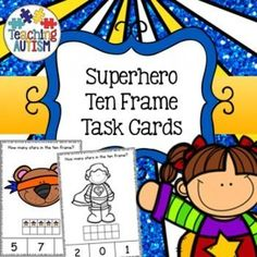 This download includes task cards with ten frames 0 - 10. Students have to count how many stars are in ten frame and then select the correct answer out of 3 choices on the bottom of the task card.Come in color/colour and black and white option. Instructio