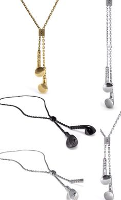 Earbud Necklace