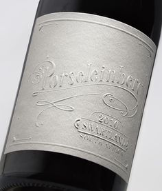 Lovely lettering on these wine labels - Designed by Fanakalo from South Africa