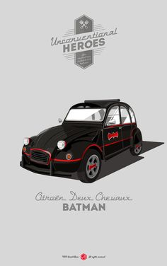 Batmovil Citroën 2CV