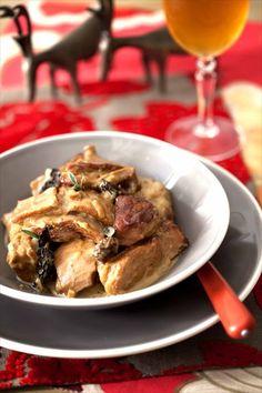 Sauté de veau au cidre et aux morilles 1