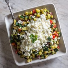 This is great as a side or a main. And as always, five steps or less!   What you'll need: 1/4 cup plus 2 tablespoons extra-virgin olive oil 8 medium zucchinis —halved lengthwise, and cut into 1/3-inch dice 3 lemon thyme sprigs Kosher salt 1 teaspoon [...]