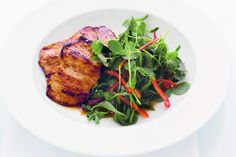 Don't think, just do!   Click here for red curry pork steaks with fresh salad:   Make your Wednesday magical.