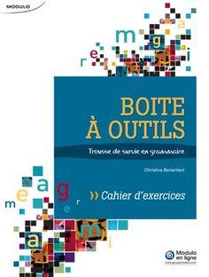 Boite à outils - Cahier d'exercices - Livre Grammaire et littérature | Modulo Textbook, Grammar, Notebook, Exercises, Tools