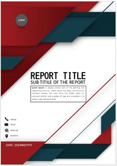 Cover Page Design can give you some of the best cover page template that you can use for your report. Cover Page Template Word, Word Template Design, Layout Template, Word Templates, Book Cover Page Design, Book Design, Cover Design, Ms Office Word, Powerpoint Background Design