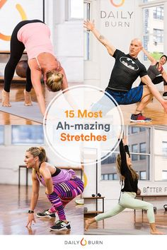 15 Stretches to Do Every Damn Day