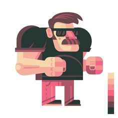 How to Design and Vector a Set of Character Poses for a Video Game - Tuts+ Design & Illustration Tutorial