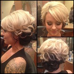 Side updo by me