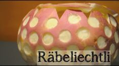 Räbeliechtli A Swiss Tradition Lanterns, Christmas Bulbs, Carving, Make It Yourself, Traditional, Holiday Decor, Youtube, Inspiration, Biblical Inspiration