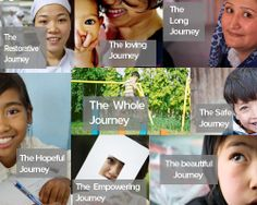 """The Whole Journey"" comes in many shapes and sizes. Hagar believes that no matter how long it takes; ups, downs, successes or difficulties, there is hope. http://hagarinternational.org/international/"