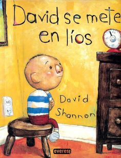 "David Shannon David Gets In Trouble - After countless ""reading"", all I had to say was ""No David"" and my children understood that what they were about to do was bad and they would stop and smile. David Shannon, No David, Quoi Qu'il Arrive, First Grade Parade, Handwritten Text, Self Regulation, Kindergarten Writing, Kindergarten Behavior, Kindergarten Centers"