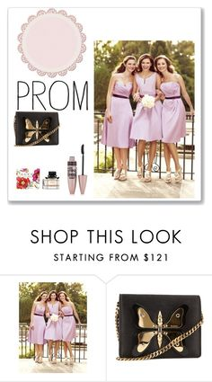 """""""Brautjungfernkleider kurz"""" by johnnymuller ❤ liked on Polyvore featuring ETUÍ, Gucci and Maybelline"""