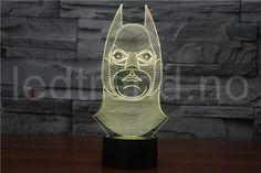 The Avengers Iron Man Deadpool Led tabel lamp flash toy New SuperHero TMNT Batman 7 color visual illusion LED lights Light Table, Lamp Light, Batman Lamp, Cheap Lamps, Laser Art, Touch Lamp, Trends, Novelty Gifts, Illusions