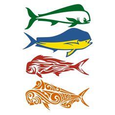 Mahi Coreldraw Fish Scan Cutting Files Digital