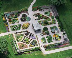 Bird's Eye View of the Idea Garden by Lee Hogan Sensory Garden, Birds Eye View, Herb Garden, Acre, Kid Stuff, Garden Ideas, Gardens, Creative, Design