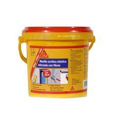 Sika®Filler-123 Fibras - Sika®Filler-123 Fibras es una masilla acrílica en base agua reforzada con fibras de vidrio. Material World, Compost, Base, Drinks, Fiber, Glass, Construction Materials, Brick, Water