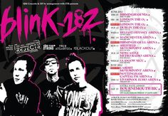 Blink 182, The All American Rejects, Twin Atlantic, June 17th 2012