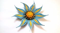 Quilling Flower Tutorial: Tropical Flower Quilling