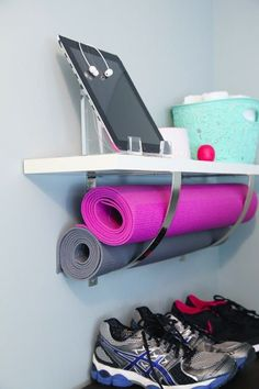 10 Small-Space Home Gym Hacks for Your Tiny Apartment | Brit   Co