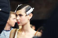 New York Fashion week: DKNY Spring 2014 Backstage