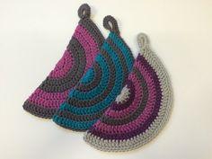 Pot Holder Hot Pad Cotton Trivet Crochet Pot by afewlittlebumps