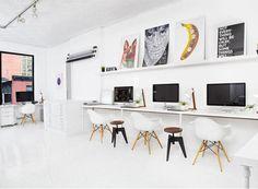 Minimalist office, just perfect