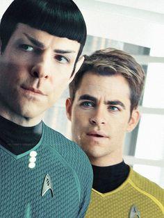 Star Trek Into Darkness 2013 Star Trek 2009, Star Trek V, Star Trek Spock, Star Trek Ships, Spock Zachary Quinto, James T Kirk, Star Trek Reboot, Spock And Kirk, Star Trek Images