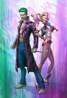 Suicide Squad Harley Quinn and The Joker