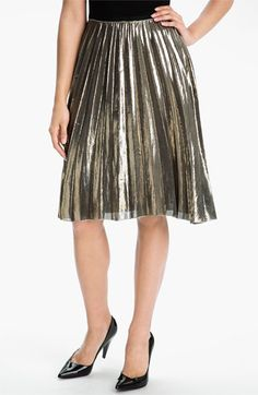 Rachel Roy 'Sunburst' Pleated Skirt | Nordstrom