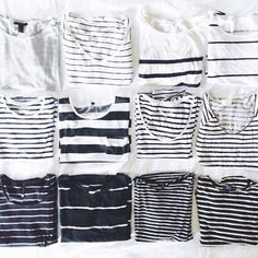Stripes on stripes on stripes.   // Follow @ShopStyle on Instagram for more inspo.