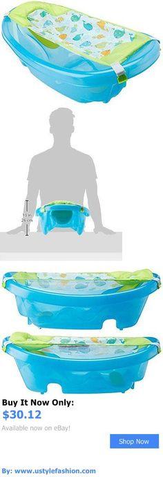 Baby Bath Tubs: Summer Infant Sparkle N Splash Newborn To Toddler Bath Tub, Blue BUY IT NOW ONLY: $30.12 #ustylefashionBabyBathTubs OR #ustylefashion
