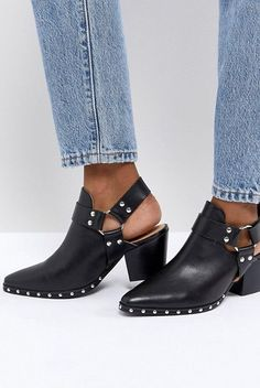 Buy Office Aaron Black Leather Harness Detail Western Boots at ASOS. Get the latest trends with ASOS now. Leather Harness, Leather Boots, Black Leather, Shoe Boots, Ankle Boots, Bootie Boots, Summer Boots, Ugly Shoes, Boating Outfit