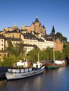 Soder Malarstrand, Stockholm, Sweden | Repinned by @perkamperin