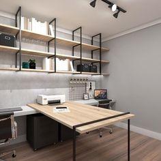24 terrific home office ideas that will inspire productivity 22 Furniture Design, Interior Design Plan, Home Interior Design, Home Office Design, Home Office Decor, Office Interior Design, Interior, House Interior, Office Furniture